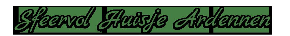 Sfeervol Huisje Ardennen